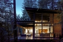 Gambier Island House built by Lindal Cedar Homes designed by Turkel Designs