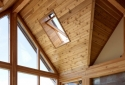 Interior Liner 1: Photo courtesy of Lindal Cedar Homes